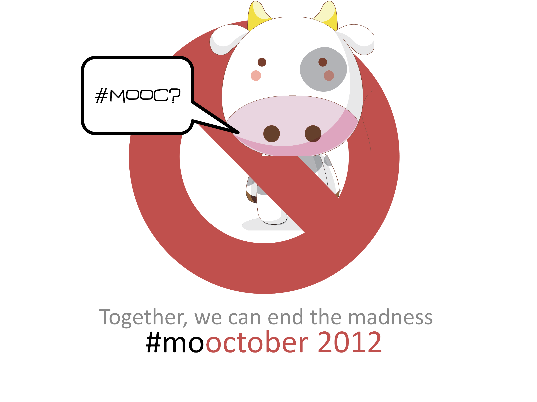 mooctober 2012