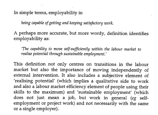 Employability research papers